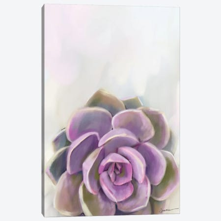 Purple Delight Canvas Print #SPW286} by Mary Sparrow Canvas Print
