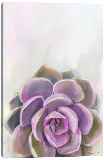Purple Delight Canvas Art Print