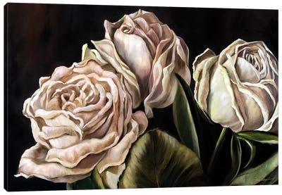 Fading Beauty Canvas Art Print
