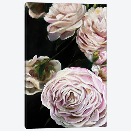 Splendor In Pink Canvas Print #SPW293} by Mary Sparrow Art Print