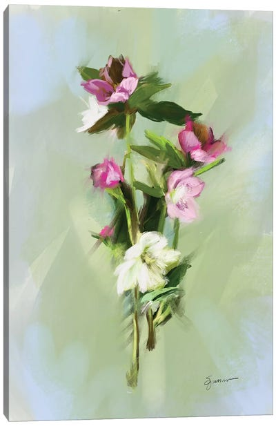 From The Fairy Garden III Canvas Art Print
