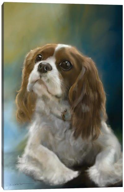Curious Charles Canvas Art Print