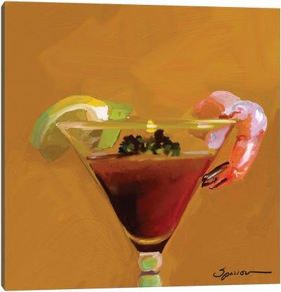 Shrimp Cocktail Canvas Art Print