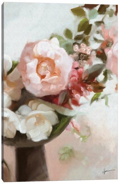 Everything's Peachy Canvas Art Print