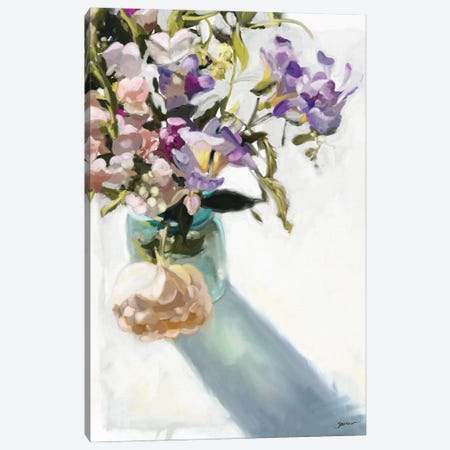Spring Fling Canvas Print #SPW322} by Mary Sparrow Canvas Print