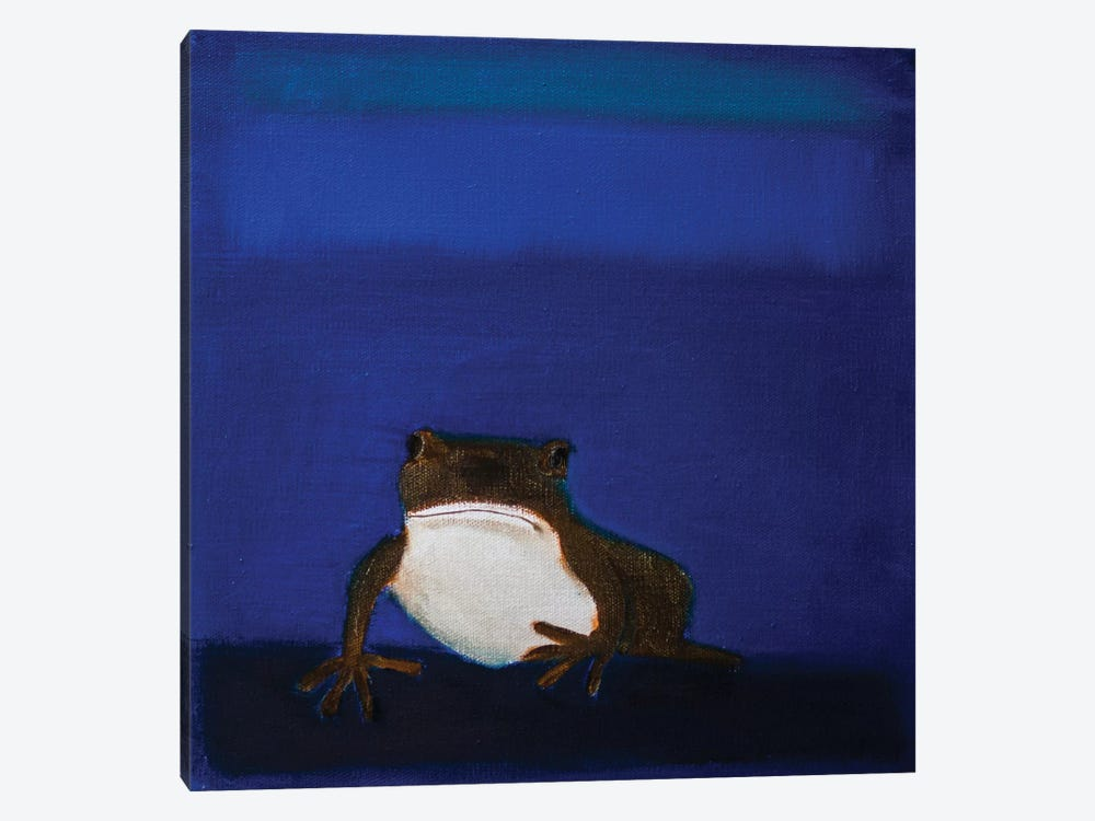 Frog by Andrew Squire 1-piece Canvas Print