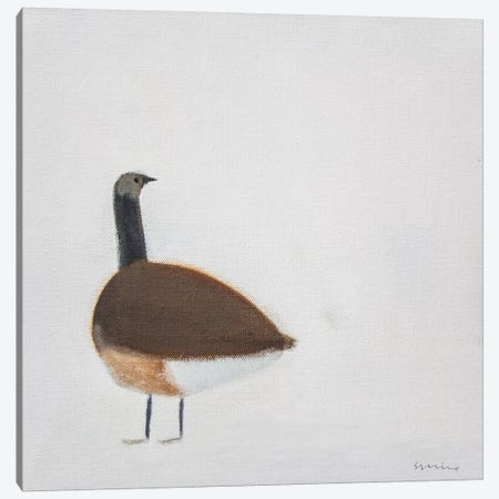 Goose Canvas Print #SQU14} by Andrew Squire Canvas Wall Art
