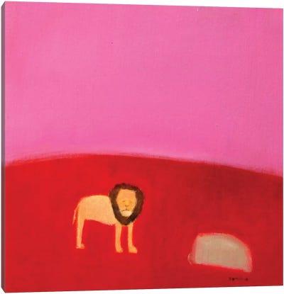 Lion Canvas Print #SQU15
