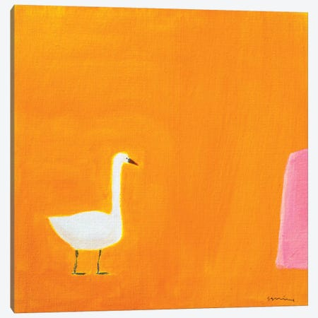Swan Canvas Print #SQU22} by Andrew Squire Canvas Wall Art