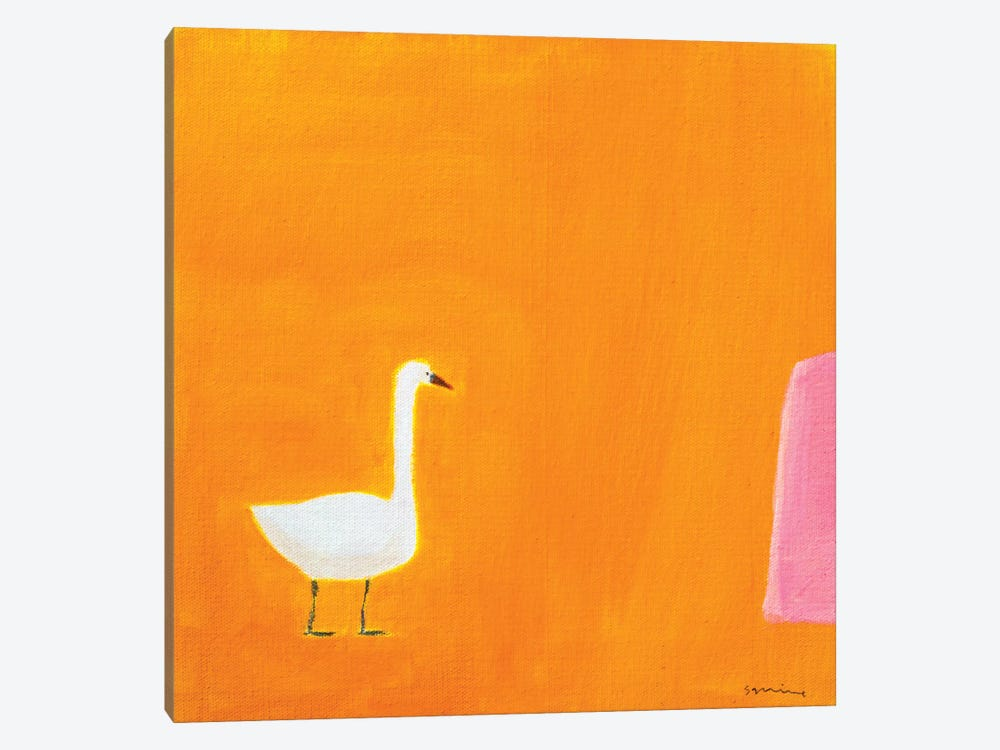Swan by Andrew Squire 1-piece Canvas Print