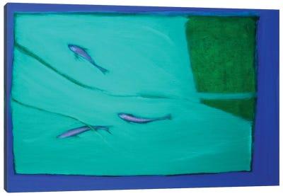 Three Fish Canvas Print #SQU23