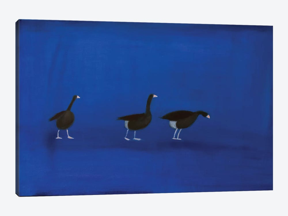 Three Geese by Andrew Squire 1-piece Art Print