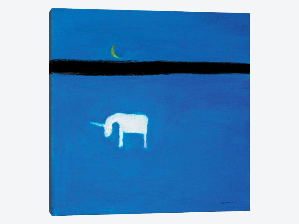 Unicorn by Andrew Squire 1-piece Canvas Artwork