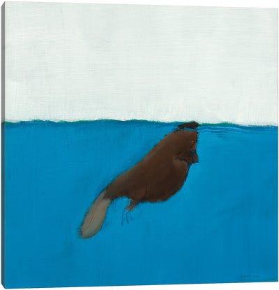Beaver Canvas Art Print