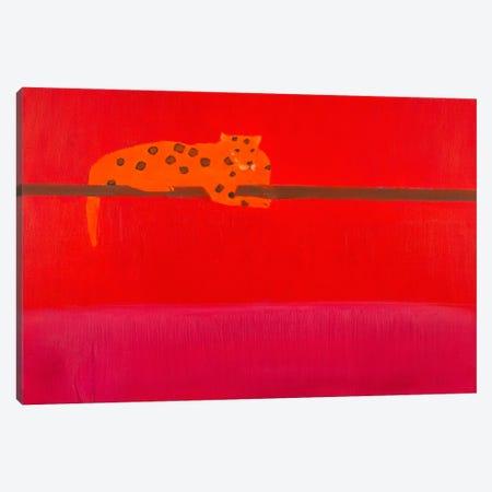 Jaguar Canvas Print #SQU32} by Andrew Squire Canvas Print