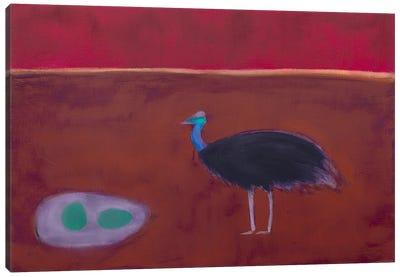 Cassowary Canvas Art Print