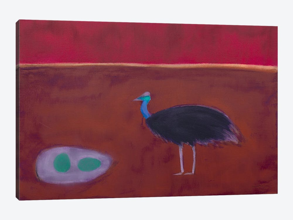 Cassowary by Andrew Squire 1-piece Art Print