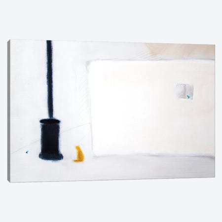 Cat & Stove Canvas Print #SQU7} by Andrew Squire Canvas Artwork