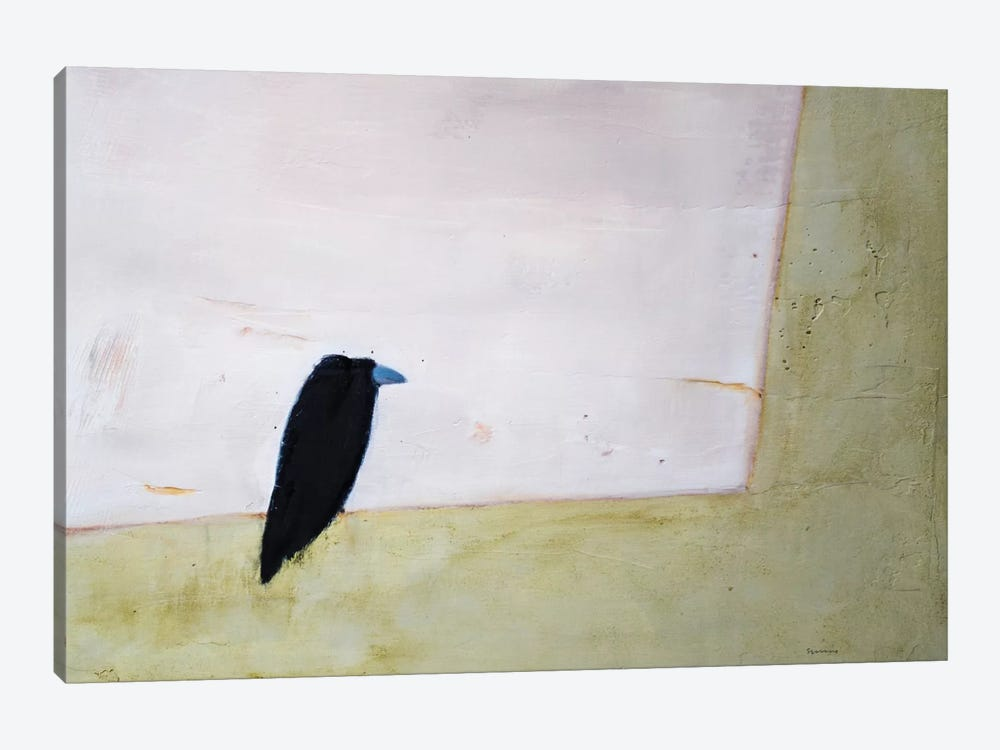 Crow Window by Andrew Squire 1-piece Canvas Print