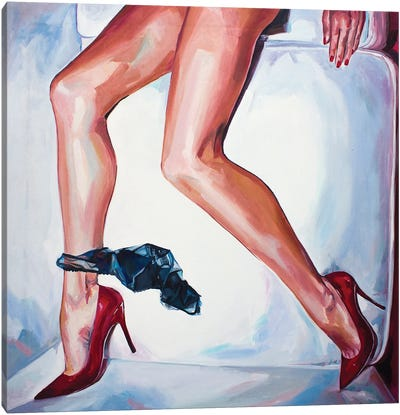 Nudecomer Canvas Art Print