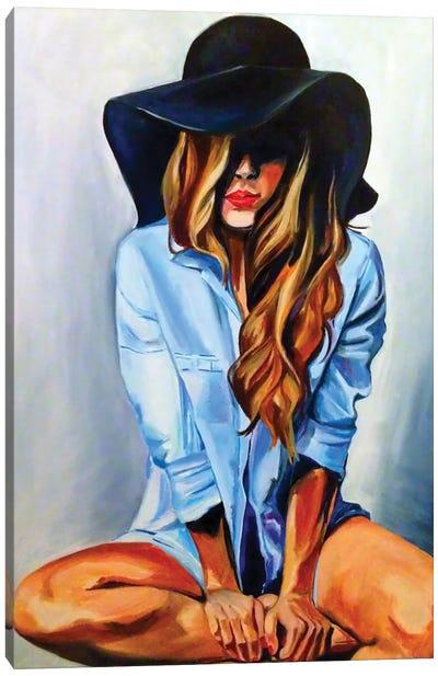 Glammy Hat Canvas Art Print