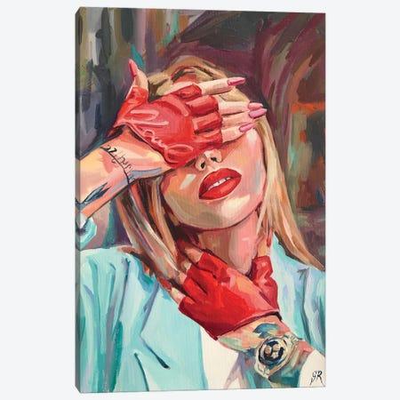 Fashion Passion Victim Canvas Print #SRB135} by Sasha Robinson Canvas Wall Art
