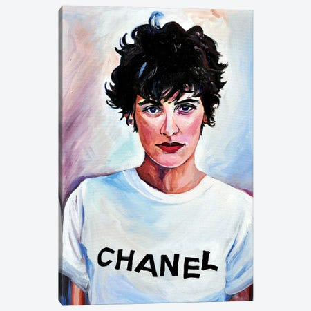 Chanel Canvas Print #SRB13} by Sasha Robinson Canvas Artwork