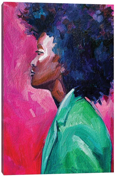 Zara Woman Canvas Art Print
