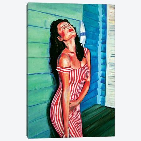 Dressupstrips Canvas Print #SRB18} by Sasha Robinson Canvas Artwork