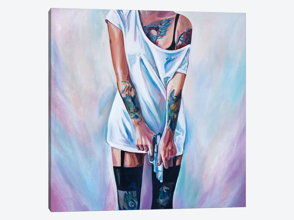 Fuck The Love by Sasha Robinson 1-piece Canvas Art