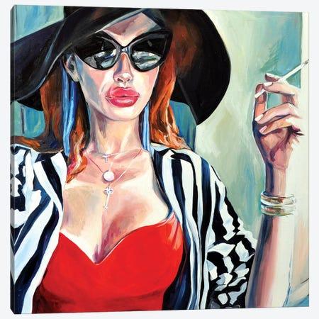 Gaze Canvas Print #SRB22} by Sasha Robinson Canvas Art Print