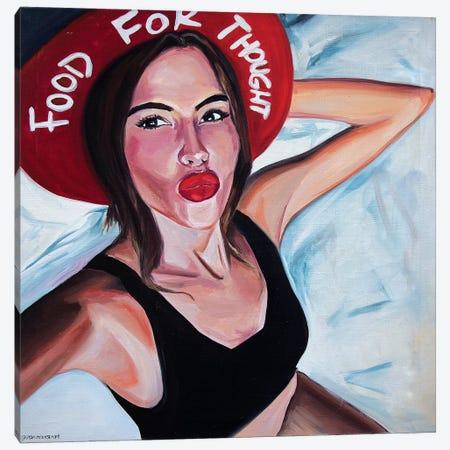 Hat Canvas Print #SRB28} by Sasha Robinson Art Print