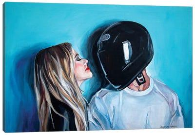 Helmet Canvas Art Print