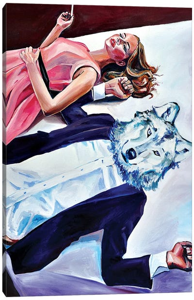 Is It Wolf Canvas Art Print