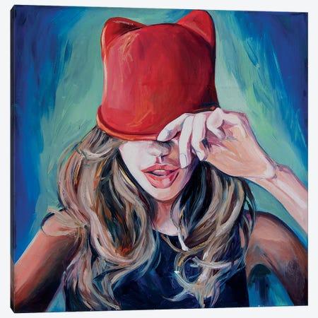 Little Red Riding Hood Canvas Print #SRB38} by Sasha Robinson Canvas Wall Art
