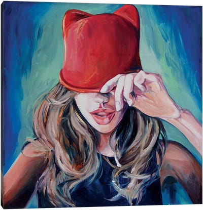 Little Red Riding Hood Canvas Art Print