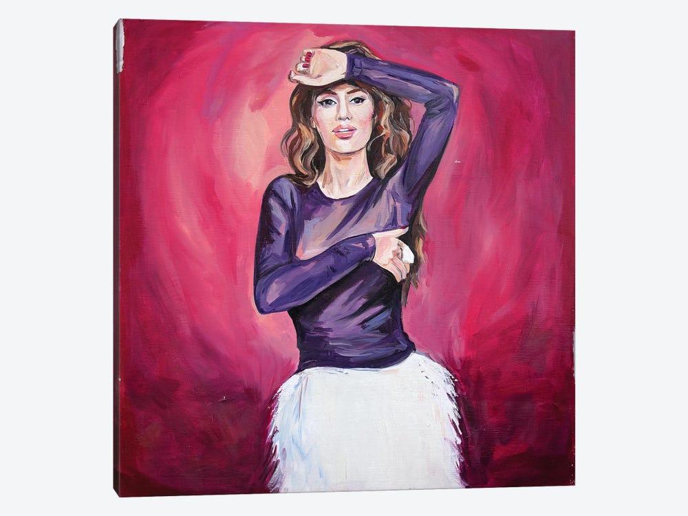 Pink Flamingo by Sasha Robinson 1-piece Canvas Art Print