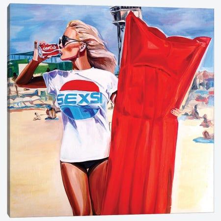 Sexie Buoy Canvas Print #SRB53} by Sasha Robinson Canvas Artwork