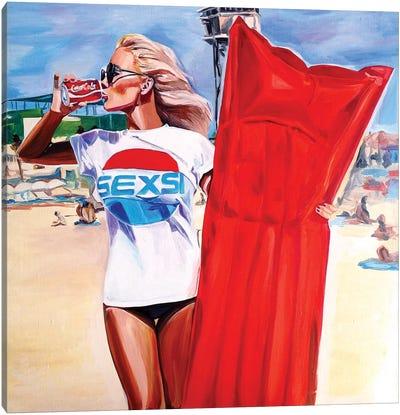 Sexie Buoy Canvas Art Print
