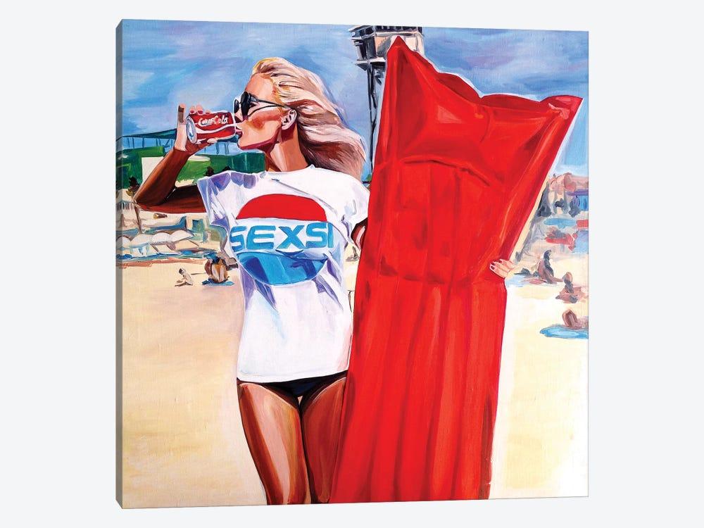 Sexie Buoy by Sasha Robinson 1-piece Canvas Art Print