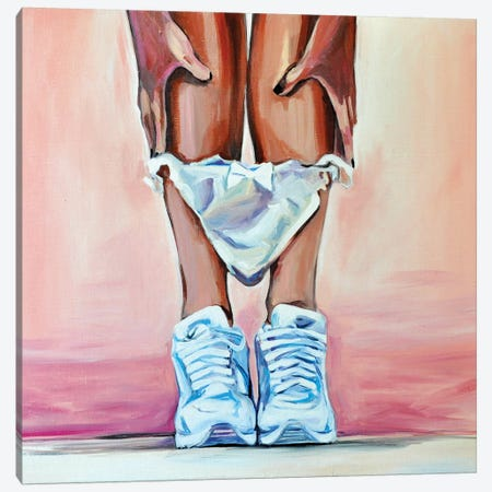 Sneakers 3-Piece Canvas #SRB56} by Sasha Robinson Art Print