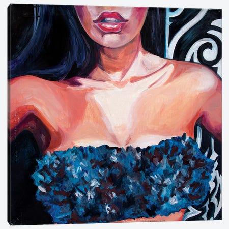 Swimming Costume Canvas Print #SRB60} by Sasha Robinson Art Print