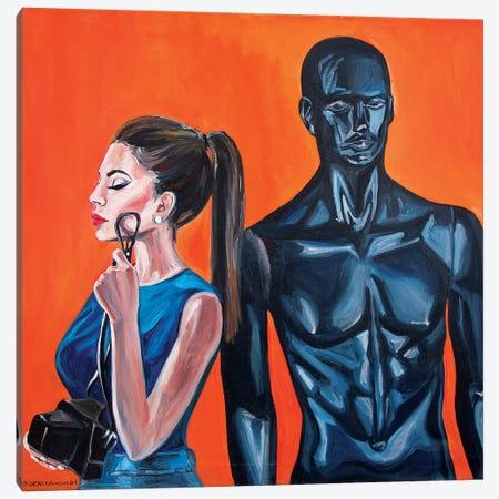 The Doll Canvas Print #SRB64} by Sasha Robinson Canvas Wall Art