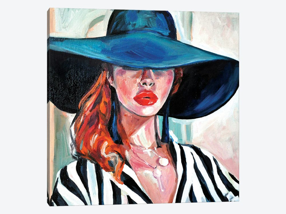 The Hat by Sasha Robinson 1-piece Canvas Wall Art