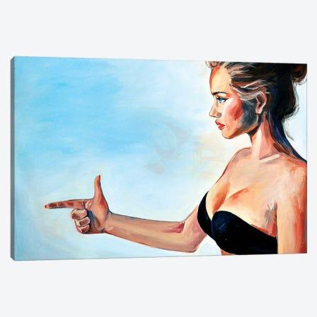 The Shot Canvas Print #SRB68} by Sasha Robinson Canvas Print