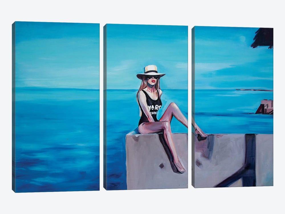 Bea by Sasha Robinson 3-piece Canvas Print