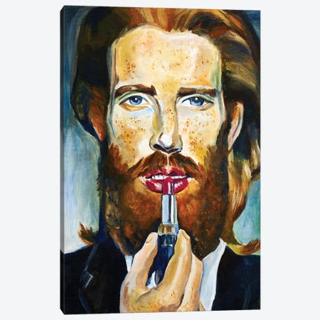 Red Hair Model Canvas Print #SRB91} by Sasha Robinson Canvas Artwork