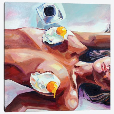 Eggs 3-Piece Canvas #SRB94} by Sasha Robinson Canvas Art Print