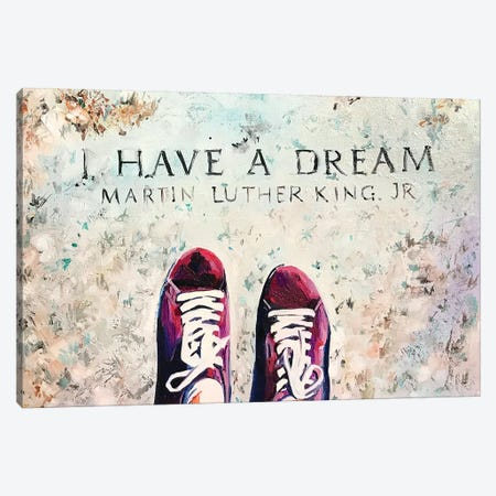 I Have A Dream Canvas Print #SRB96} by Sasha Robinson Canvas Print