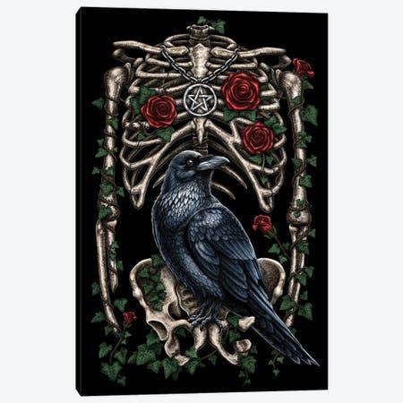 Corvus Canvas Print #SRC12} by Sarah Richter Art Print